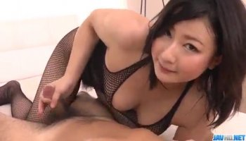 Getting a thick cock in her vagina delights beauty