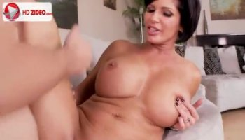 Porn talent with huge knockers tried out by agent
