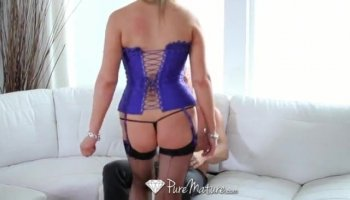 Angels are having joy pleasuring studs cock