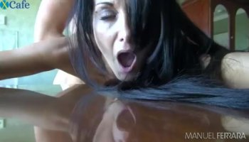 Kat Arina bends over her ass and fuck doggystlye